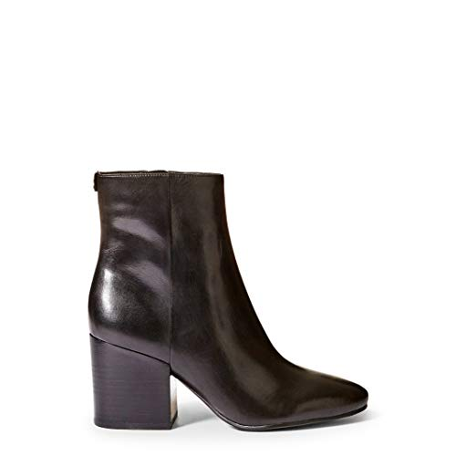 Guess Women's Leather Ankle Boots, FLOLE4LEA10_Black (Uhren Guess Fall)