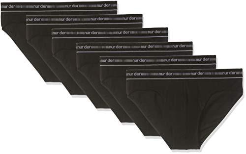Mann Classic-slip (Nur Der Herren 6er Sip 3D Flex Classic DP Slip, Black Schwarz, X-Large (Herstellergröße: 8) (erPack 6)