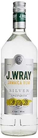 J.WRAY Silver Rum 40% 1,0l Flasche