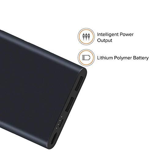 Mi 10000mAH Li-Polymer Power Bank 2i (Black) with 18W Fast Charging Image 4