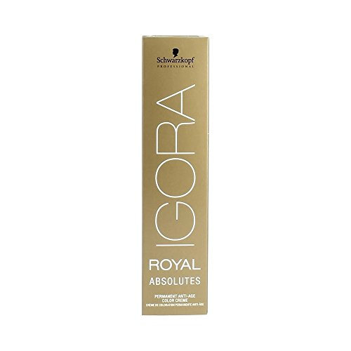 Schwarzkopf IGORA Royal Absolutes Permanent Anti-Age Color Creme 5-70 hellbraun kupfer natur, 1er Pack (1 x 60 ml)