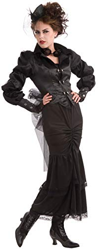 Forum Novelties ac541 Steampunk Victorian Lady Kleid (UK - Tournure Kostüm