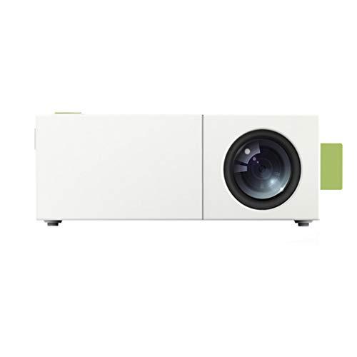SZP Mini Projector, Mini Handheld Pico Projector, Portable Home Entertainment Projector, 3D Audio und Video, Support 1080p, Handy, Computer, U Disk, Audio Portable Audio-video-handy
