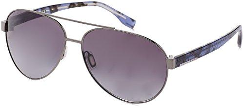 BOSS Hugo Herren 0648/F/S HD OJQ Sonnenbrille, Grau (Rot Blue Hvngry/Grey Sf), 64
