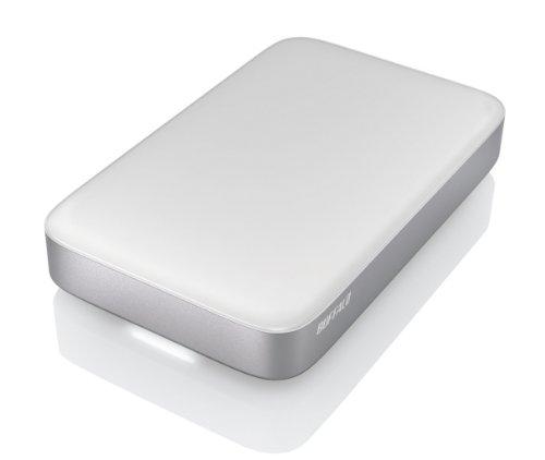 "Buffalo HD-PA1.0TU3-EU - Disco duro externo 2.5"" de 1000 GB, USB 3.0, color blanco"