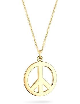 Goldhimmel Damen-Halskette Silber vergoldet 45cm 01527473_45