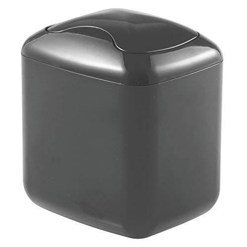 MDesign Papelera Tapa basculante sobremesa - Cubo