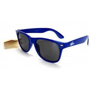 Sion Kölsch Sonnenbrille Nerd Party Wayfarer Brille blau mit UV 400 Schutz
