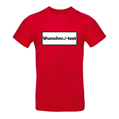 Kostüm Ohne Masken - T-Shirt Panzerknacker Kostüm-Set Wunschnummer Cap Maske Karneval Herren XS - 5XL Fasching JGA Party Sitzung, Größe:L, Logo & Set:Wunsch-Nr./Shirt only (Wunsch-Nr. o. -Text/Shirt ohne Zubehör)