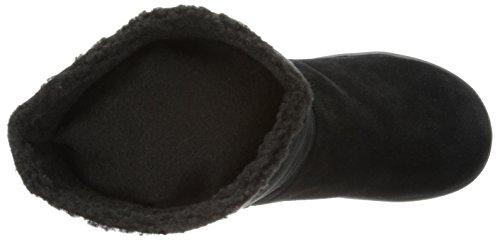 Sorel Glacy, Bottes de neige femme Noir (011)