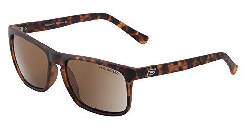 Dirty Dog RAM Sonnenbrille Satin deliktrechts braun–braun polarisiert Objektiv