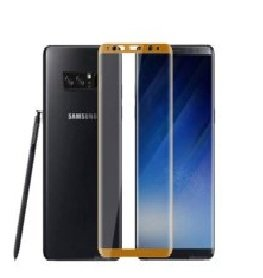 SmartLike 3D Edge To Edge Full Front Body Cover Tempered Full Glass Screen Protector Guard For Samsung Galaxy Note 8 GOLD