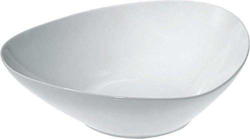 Alessi FM10/38 Colombina Collection Saladier en Porcelaine Blanc