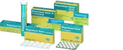 Magnesium Verla N Dragees 10X100 stk