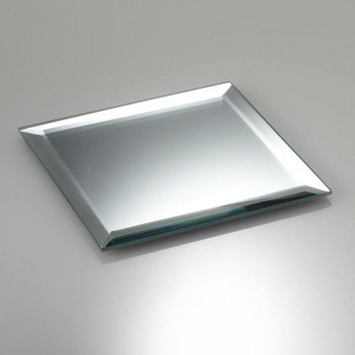 Eastland® 20,3cm quadratisch abgeschrägte Spiegel. Ideal für Tisch Aufsteller Set von 10