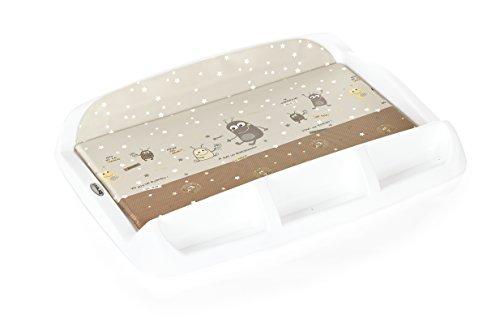 Brevi 006 071 Fasciatoio Tablet Rigido Bianco Marziani, Moka