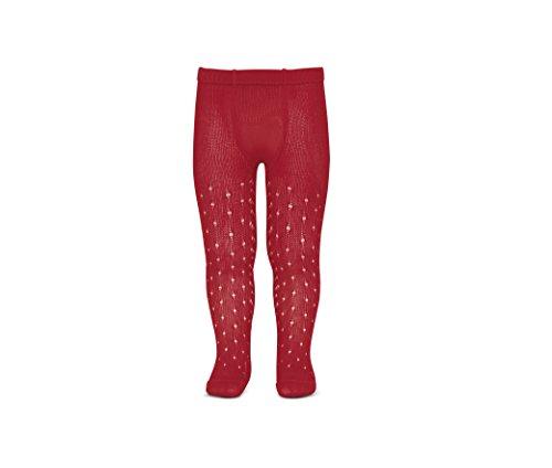 Condor 2565/1, Calcetines para Bebé Niñas, Rojo (Rojo 550), 16 (Tamaño del fabricante:0)