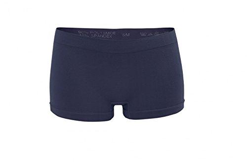 Fabio Farini 6er-Pack Damen Seamless Panties Hipsters Boxershorts aus weichem Microfaser-Gewebe Multifarb Set