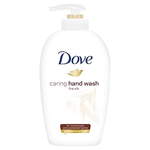 Dove Waschlotion Feine Seide, Spender, 3er Pack (3 x 250 ml)