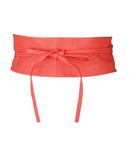 KRISP® Women Obi Belt Waist Band Self Knot Tie Up Cinch One Size Fits All Test
