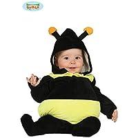 Kinder Bienen Kostüm Bienenkostüm Biene Babykostüm 90-98 cm 1-2 Jahre