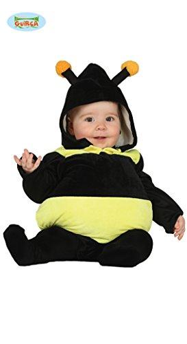 Dicke Biene Baby Kostüm Halloween Karneval Party Babykostüm süss Gr. 74-92, Größe:86/92 (Biene Kostüme Für Babys)