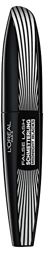 L'Oréal Paris False Lash Schmetterling Midnight Blacks Mascara, schwarz - Wimperntusche für...