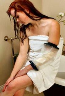 duschschutz gips LIMBO Dusch- und Badeschutz für den Ellbogen, Erwachsene, M75, BREIT