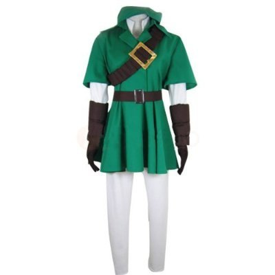 The Legend of Zelda Link Cosplay Kostüm