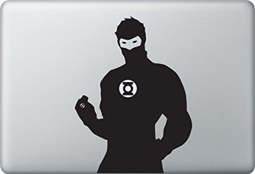 Apple MacBook Air Pro + Green Lantern + Aufkleber Sticker Skin Decal + Marvel