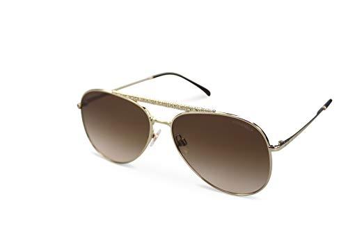 Chanel Sonnenbrille Damen Sunglasses CH4231 col. C395-S5 Gold (59-14)