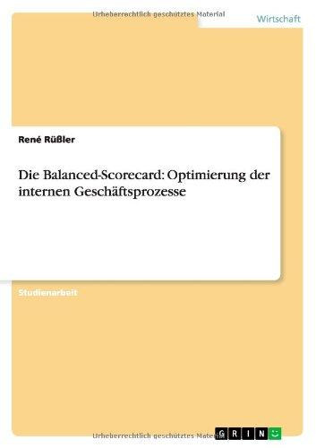 Die Balanced-Scorecard: Optimierung der internen Geschäftsprozesse