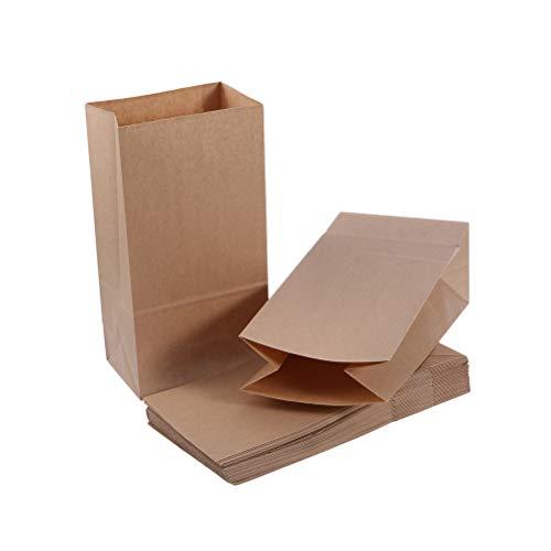 VORCOOL 50 unids Craft Paper Bag Party Favor Bolsas