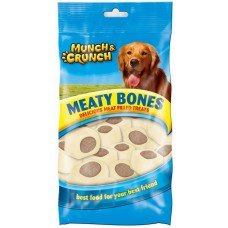 2 Packs of Meaty Bones Delicious Meat Filled Treats
