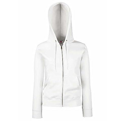 Fruit of the Loom Ladies-Fit Hooded Sweat Full Zip Jacket XS,S,M,L,XL,XXL