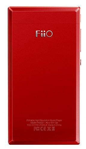 FiiO x3iii (3rd Gen) reproductor de audio digital de alta resolución rojo