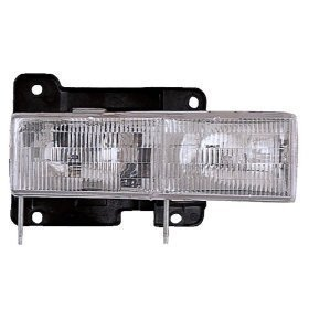Chevy CK Truck/Silverado Headlight OE Style Replacement Headlamp Driver Side New by Headlights