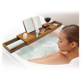 sharper-image-01331-teak-tub-tray-brown