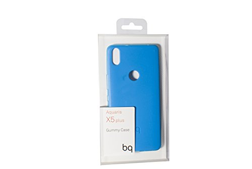 BQ BXBQ692 - Funda para Aquaris X5 Plus, color azul