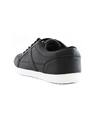 Reservoir Shoes - Basket fashion homme Reservoir Shoes Edson Noir Lezard Noir