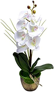 YATAI Artificial Phalaenopsis Orchid Flowers Leaves Branches Artificial Plants Real Touch Fake Flowers for Hom