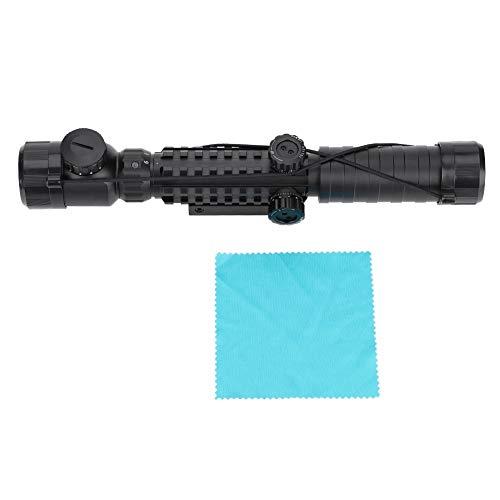 Wolfgo Red Dot Sight-3-9x32 EG Jagd-Zielfernrohr Roter/grüner Punkt beleuchtetes Zielfernrohr Tactil Sniper für Luftgewehre -