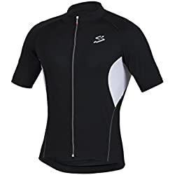 Spiuk Anatomic M/C Maillot, Hombre, Negro, XXL