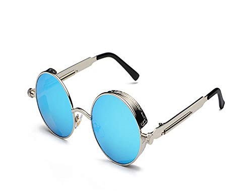 XCTY Sonnenbrillen RundeSonnenbrille Männer Frauen 时尚 Eyewear Spiegel Sonnenbrille...