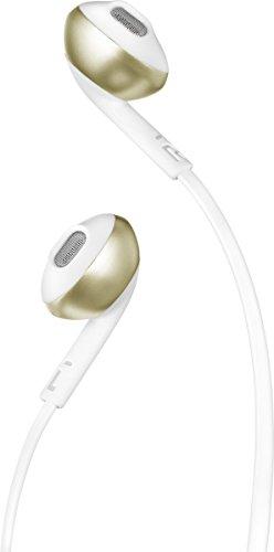 JBL Tune 205BT In-ear Binaural Wireless Champagne, Gold mobile headset - Mobile Headsets (Wireless, In-ear, Binaural, Intraaural, 20-20000 Hz, Champagne, Gold)