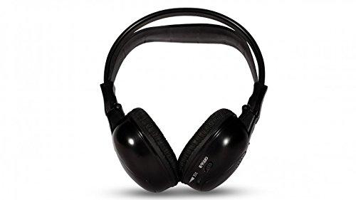 HaWoTEC IR Stereo Kopfhörer Ohrhörer Wireless Kabellos 2 Kanal Wireless-ir-stereo