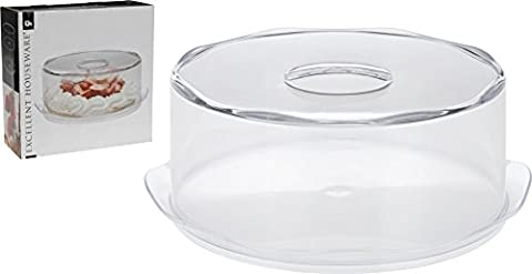 Large Acrylic Birthday Cake Cupcake Muffin Display Serving Plate with
