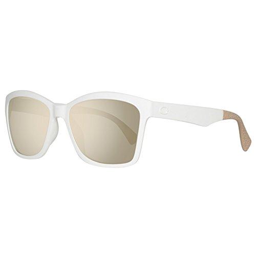 Guess Damen GU7434-5621C Sonnenbrille, Weiß (White), 56