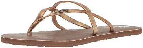 Volcom All Night Long Zehentrenner, Chanclas para Mujer