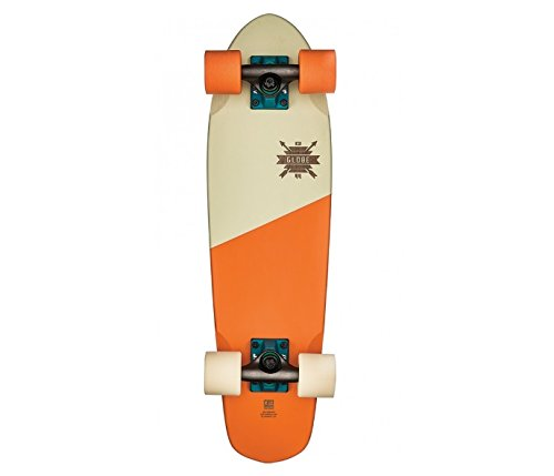 Globe Blazer 26 Cruiserboard, Blazing Orange/Creme, One Size